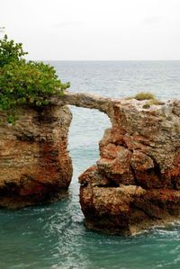 Natural Bridge at Cabo Rojo's Lighthouse