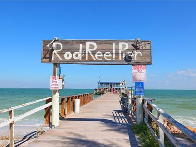 Rod and Reel fishing pier--5 blocks from house