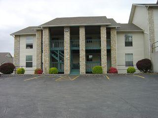 Branson condo photo - Outside of condo. There are only 3 steps to the unit floor from the parking lot