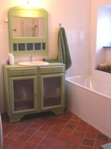 La Bussiere sur Ouche house rental - One of the 2 bathrooms