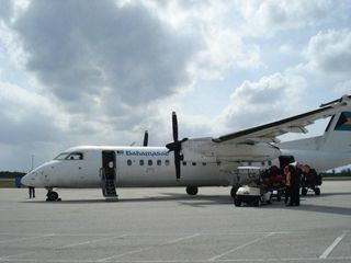 San Salvador condo photo - Bahamasair Daily Dash 8 service from Nassau (NAS)