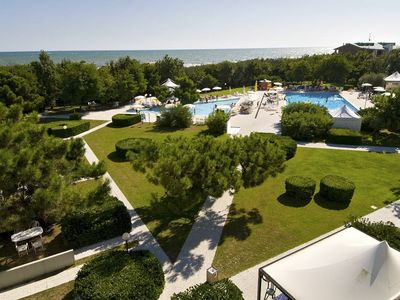 Residence directly on the Adriatic coast