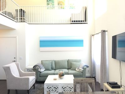 Go2 BEACH and Promenade! Huge Space with Loft, Private Roof Deck, and Patios!
