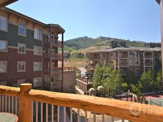 Park City condo photo - Private deck overlooking Westgate resort
