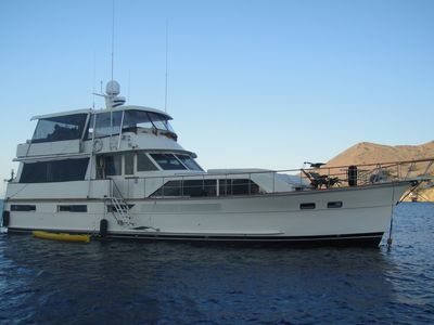 SLICE of LIFE is a Gorgeous 70' Motor Yacht in the Heart of the Marina del Rey