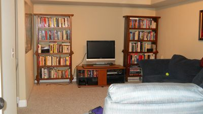 View of T.V. entertainment area
