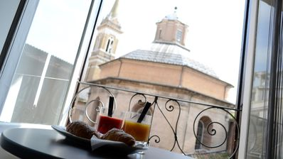 Loft Apartment With An Amazing View In The Cloister Of Bramante