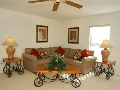 Orlando villa rental - Upstais Living Room (Loft)