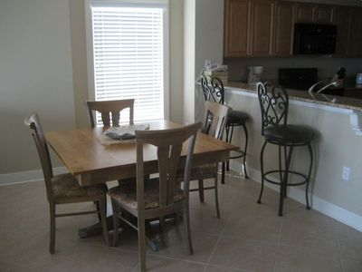 Kitchen area seating