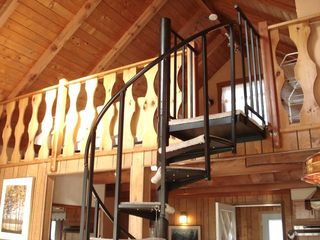 Whiteface Mountain chalet photo - Stairway to rest, relaxation & sweet dreams