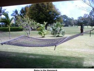 Princeville house photo - Relax in the Hammock