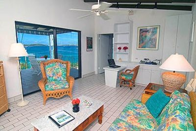 The Gallows Point SeaView Living Room with Romantic Ocean View