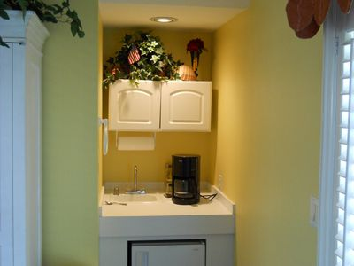 Clearwater Beach house rental - Coffee Station in Master Suite