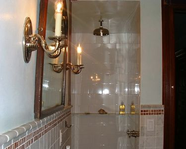 Central Park North townhome rental - Rainfall shower heads