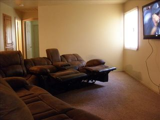 St. George condo photo - Living area w 2 reclining sectionals