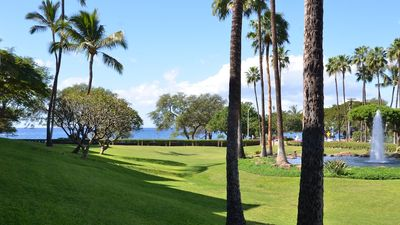 Actual daytime view from lanai area!