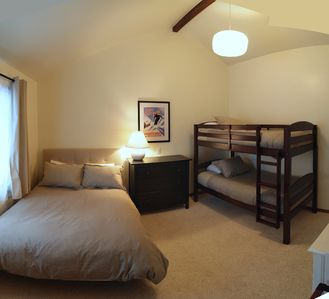 Mammoth Lakes townhome rental - Third Bedroom