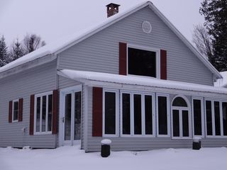 Glover house photo - Winter arrived on Daniels Pond! Photo taken December 1, 2012, 4:00pm.