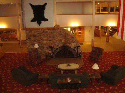 Mountain Lodge main lobby