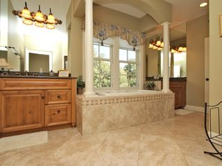 Forest Beach house photo - Master Bathroom, 2nd floor, tub and stand alone shower