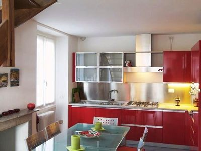 Menaggio Fantastico - Fully-fitted Contemporary Kitchen