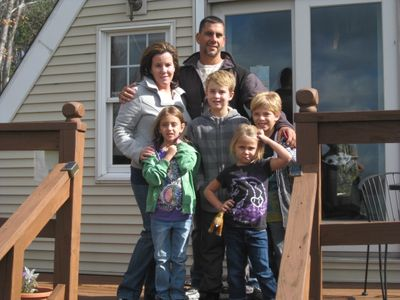 SunnyHill is great for families; this family  returned for a family reunion