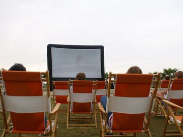 Screen on the Green - movies on the Great Lawn during the summer