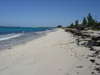 Green Turtle Cay house photo - Beach directly behind house