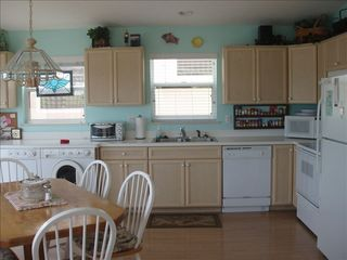 Hutchinson Island house photo - kitchen is open to family room/water views - well designed and well stocked.
