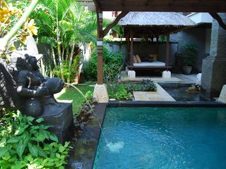 Nusa Dua apartment photo - Plunge pool with Day bed
