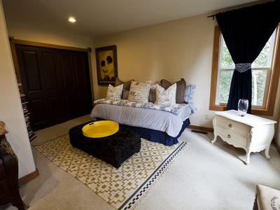 the Studio Bedroom with trundle bed that can be a twin, two twins or a king.