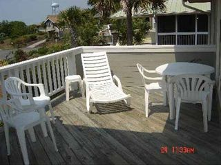Isle of Palms house photo - front deck