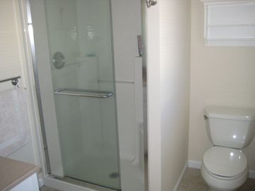 Jr. master bath with shower