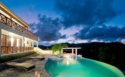 Wonderful new Caribbean style villa