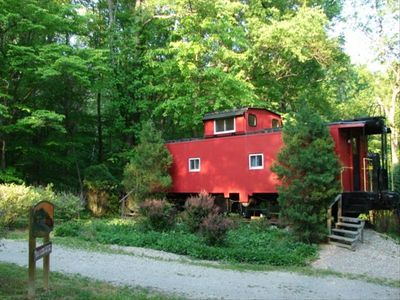 "Caboose ""Cabin"" Rental - Stay in a real Caboose!"