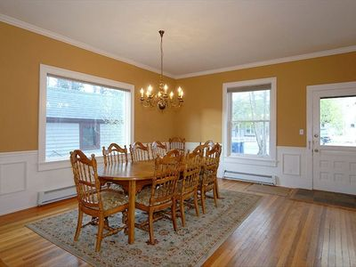 Dining Table seats 10 to 12. This room ajoins kitchen and family room