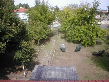 View of back garden from upstairs