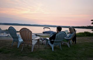 Lake Leelanau cottage photo - It just doesn't get any better than this.