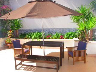 Estoril apartment photo - Sunny private terrace, perfect for barbecues and sun bathing