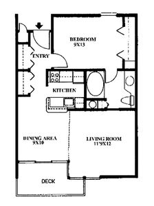 Floor Plan (for map lovers) BR Closet is actually on opposite wall.