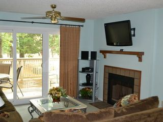 Kingston Plantation villa photo - Flat screen TV, DVR and stereo system.