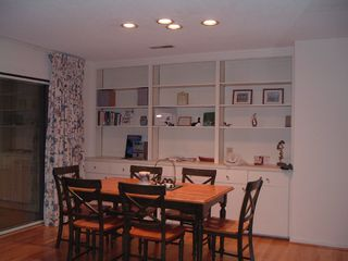 Seabrook Island house photo - Dining area with sliders to den
