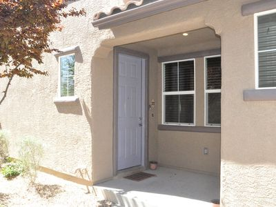 Las Vegas townhome rental - Entrance