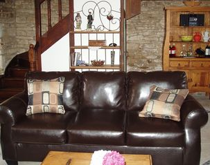 Pont-Aven cottage photo - Living room