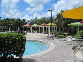 Additional view of pool area - Kissimmee condo vacation rental photo