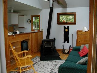 Harpswell house photo - Living Room in Smaller Cottage