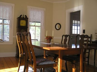 Waterford house rental - Dining room
