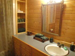 Heber City cabin photo - Downstairs Bathroom
