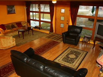 Winhall chalet rental - Great room