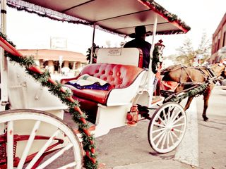 Branson cabin photo - Romantic carriage rides take you through town. Photo courtesy BCC.